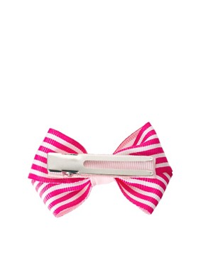 Image 3 ofJohnny Loves Rosie Striped Bow