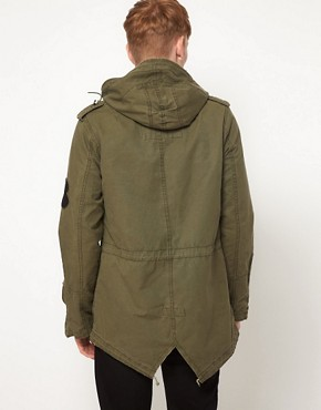 Image 2 ofB Side By Wale Parka