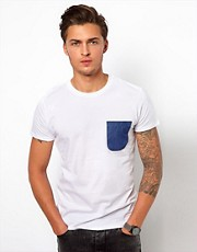 Revolution T-Shirt With Floral Panel