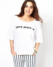 Wildfox Let&#39;s Sleep In T-Shirt