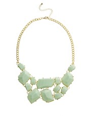 Kenneth Jay Lane Statement Gem Necklace