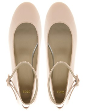 Image 2 ofASOS LUCKY STAR Ballet Flats