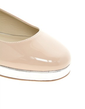 Image 3 ofASOS LUCKY STAR Ballet Flats
