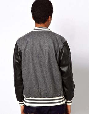 Image 2 ofCriminal Damage Varsity Jacket