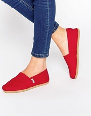 TOMS Classic Canvas Flat Shoes