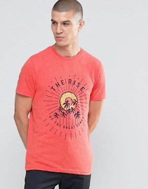 Celio Crew Neck T-shirt with Graphic Print