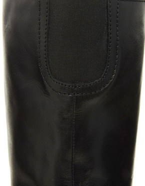 Image 3 ofASOS CHIEF Leather Knee High Boots