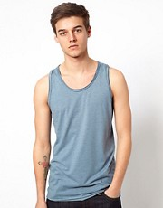 Selected Vest With Raw Edge
