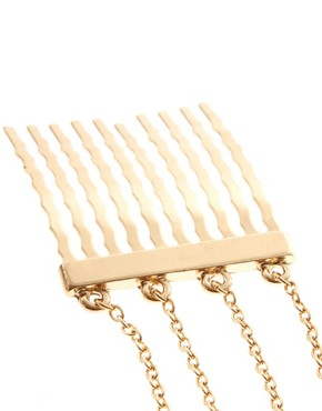 Image 3 ofASOS Spike Ear Cuff And Comb