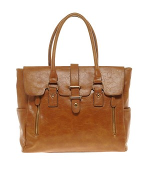 Image 1 ofWarehouse Satchel Tote Bag