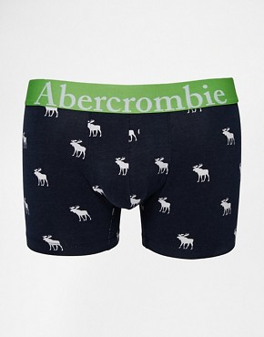 Abercrombie & Fitch Trunks with All Over Moose Print