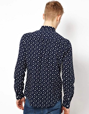 Image 2 ofASOS Shirt With Spot Print