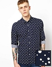 ASOS Shirt With Spot Print