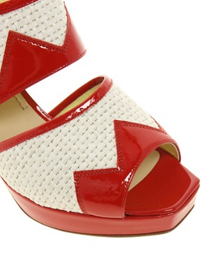 Image 2 ofPollini Block Heeled Sandals