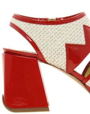 Image 3 ofPollini Block Heeled Sandals