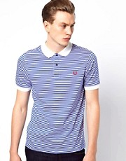 Fred Perry Polo with Fine Stripe