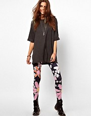 Your Eyes Lie Flower Power Leggings