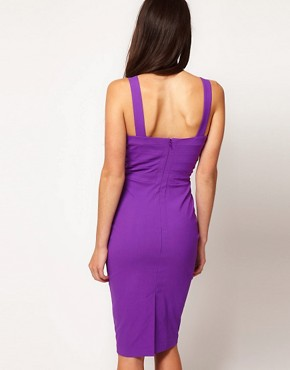 Image 2 ofHybrid Strappy Criss Cross Panel Pencil Dress