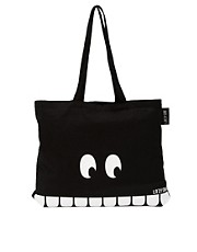 Lazy Oaf  Tooth  Shopper-Tasche