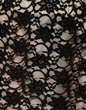Image 3 of ASOS a Line Mini Skirt in Lace