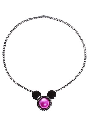 Image 2 ofMinnie Mawi By Disney Couture Minnie Ears Necklace