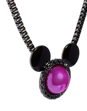 Image 4 ofMinnie Mawi By Disney Couture Minnie Ears Necklace
