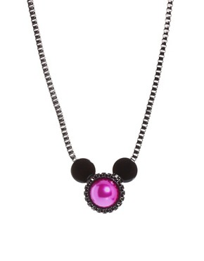 Image 1 ofMinnie Mawi By Disney Couture Minnie Ears Necklace