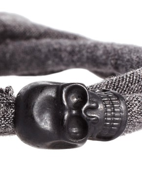 Image 4 ofIcon Brand Skull Wrap Bracelet