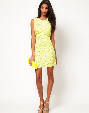 Image 4 ofASOS Printed Dress with Open Back