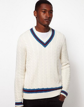 Image 1 ofRampant Sporting Cricket Jumper