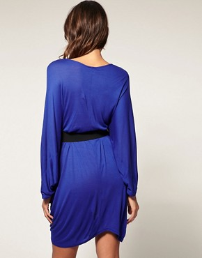 Image 2 ofASOS Kimono Waisted Dress with Belt