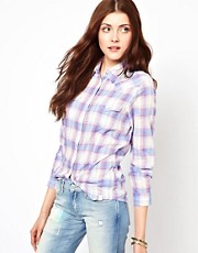 Wrangler Muted Checked Shirt