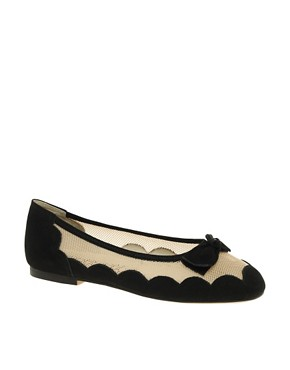 Image 1 ofF-Troupe Mesh Cloud Ballerinas