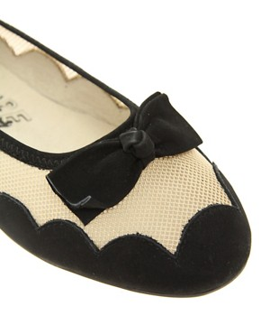 Image 3 ofF-Troupe Mesh Cloud Ballerinas