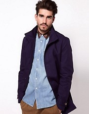 ASOS Trench With Funnel Neck