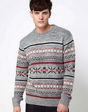 Jack & Jones - Maglia Fair Isle