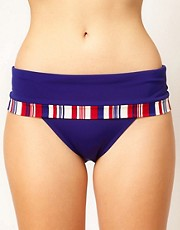 Panache - Stella - Slip bikini con bordo a righe