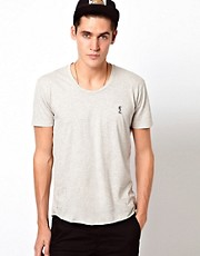 Religion T-Shirt with Basic Scoop Neck
