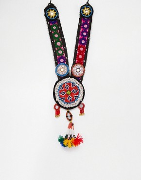 Reclaimed VintageTassel Necklace