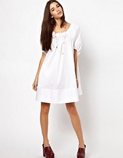 ASOS Swing Dress With Gathered Neckline