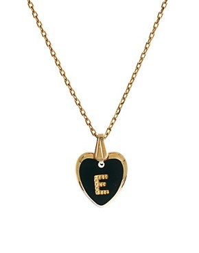 Image 1 ofGogo Philip E Initial Heart Necklace