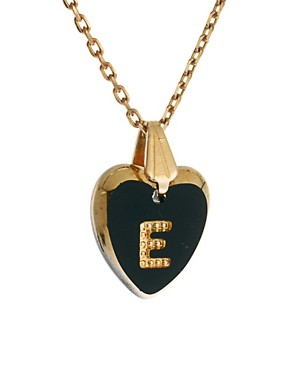 Image 4 ofGogo Philip E Initial Heart Necklace
