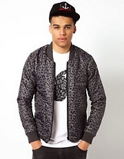 Le Fix Jacket Quilted Leopard