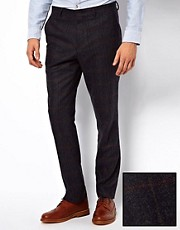 ASOS Slim Fit Suit Trousers in Italian Fabric