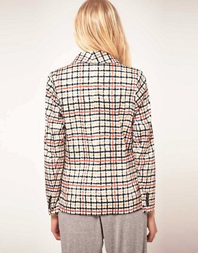 Image 2 ofBaum Und Pferdgarten Jacket In Check Print