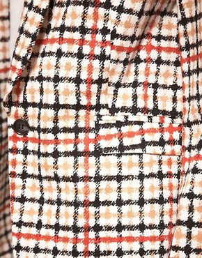 Image 3 ofBaum Und Pferdgarten Jacket In Check Print