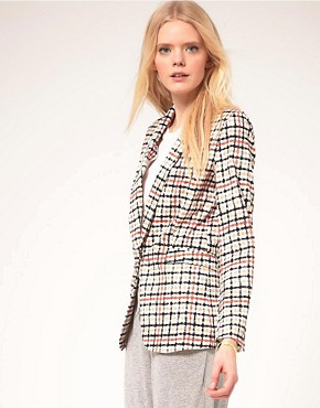 Image 1 ofBaum Und Pferdgarten Jacket In Check Print
