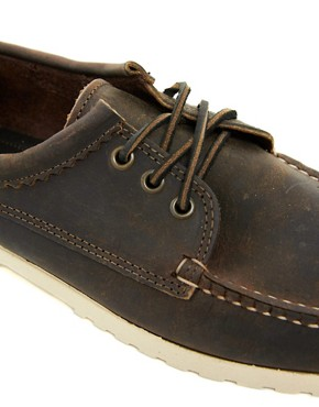 Image 2 ofQuoddy Blucher Leather Shoes
