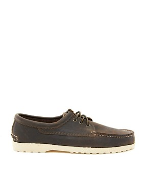 Image 4 ofQuoddy Blucher Leather Shoes