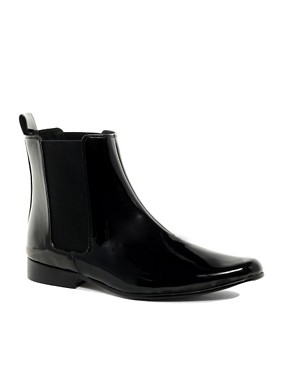 Image 1 ofASOS Chelsea Boots in Patent